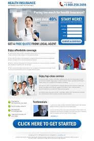 health insurance website design insurance landing page design for health insurance life insurance