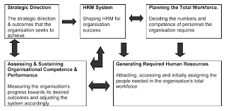 human resource management acirc hr forecasting the six broad interconnected components of this system consist of three planning steps and three execution steps