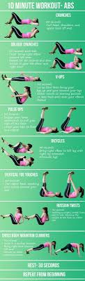 10 minute workout abs