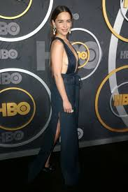 Pacific Design Fitness Emilia Clarke Attends The 2019 Hbo Emmy Award After Party At