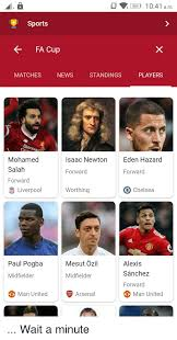 Follow afc cup 2020 and more than 5000 competitions on flashscore.co.uk! C869 1041 Am Sports Fa Cup Matches News Standings Players Mohamed Salah Forward Isaac Newton Eden Hazard Forward Forward Liverpool Worthing 0 Chelsea Mesut Ozil Alexis Sanchez Forward Paul Pogba Midfielder Midfielder