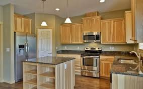 impressive ideas kitchen wall colors with light wood cabinets attractive kitchen paint colors with light cabinets