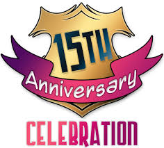 Image result for 15th anniversary gif
