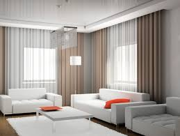 simple modern curtain living room