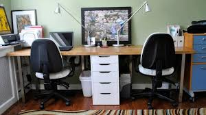... Medium Size of Office Desk:workstation Desk White Office Furniture T  Desk For Two Officeworks