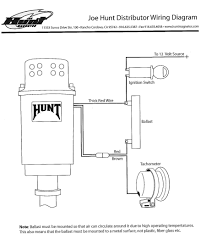 wiring diagram for joe hunt hei distributor alkydigger note the ground for the distributor comes from the clamp touching the engine block joe hunt distributor wiring diagram