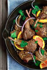 Easy Orange Harissa Lamb Chops Recipe The Mediterranean Dish
