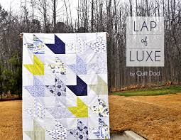 Fat Quarter Gang - Lap of Luxe by Quilt Dad - Art Gallery Fabrics ... & Although the prints are quite sophisticated in nature, I think this small  quilt would be ... Adamdwight.com