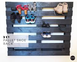 diy pallet shoe rack. DIY Pallet Shoe Rack Diy A
