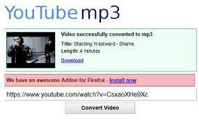 how to convert a video into an mp3 audio file this is what the page will look like just paste the url into the box