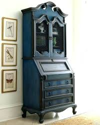 secretary furniture piece bright sky desks antique drop front used desk hinge secretar