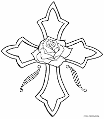 Small Picture Cross With Roses Coloring Pages Sugar Skull With Roses Coloring