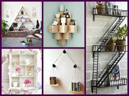 diy creative wall shelves design 21 room decor ideas