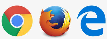 Browser Logos - Microsoft Edge Chrome Firefox PNG Image | Transparent PNG  Free Download on SeekPNG