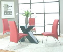 red dining room sets cramco mensa 5 piece rectangular glass black dining room set w red chairs plans