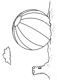 Small Picture Beach ball coloring pages on the sand ColoringStar