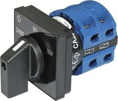 ac rotary switch off 2 positions 120v ac 30a blue sea systems product image · switches rotary switches