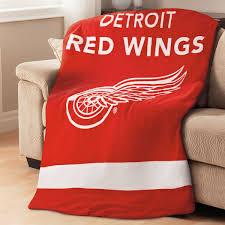 sunbeam nhl fleece heated throw detroit red wings