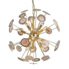 12 light gold chandelier