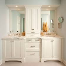 Bathroom Tower Storage Bathroom Vanity With Built In Towers Marvellous Inspiration