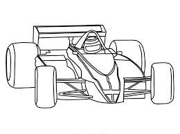 Race Car Coloring Pages Kids Kleuren