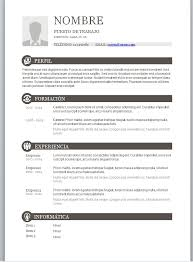 modelo curriculum plantilla curriculum basico modelo curriculum