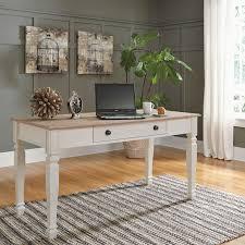 desk workstation sarvanny large leg desk ashley furniture desks small corner computer for home wooden