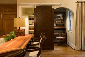 Barn Door In Kitchen Barn Doors For Homes Double Barn Doors Interior With Glass Top