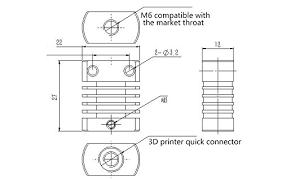 TWP CR8/CR10 <b>Heat</b> Sink All-Metal Radiator For <b>MK10</b> V6 ...