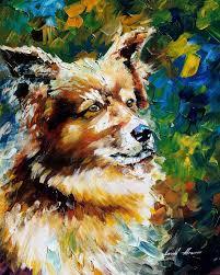 fine art brown dog brown dog