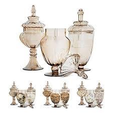 Decorative Glass Jars For Kitchen Kitchen Counter Decor Amazon 59