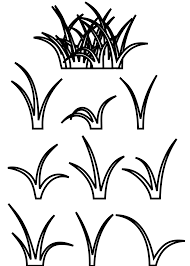 Small Picture Grass Coloring Pages akmame