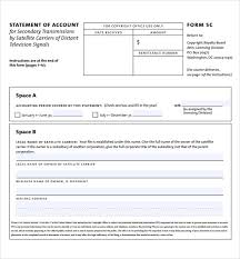 Sample Bank Statements Template Sample Statement Of Account 10 Documents In Pdf