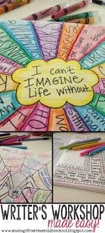 best imaginative writing ideas th grade   video post about implementing writer s workshop in your classroom lots