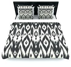 black cream tribal ikat duvet cover 88x88 woven polyesterblack and white king size sets toile ikat