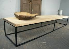 round wood and metal coffee table coffee table round wood and metal coffee table metal frame