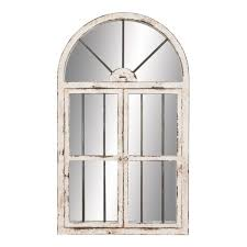 aspire home accents 74397 42 in arched window wall mirror