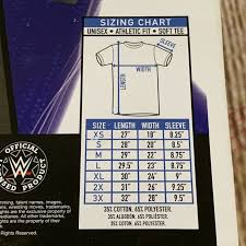 Wrestling Moves Chart Funko Pop Tees Pint Size Heros Wwe Andre Vs Ultimate Warrior T Shirt Small