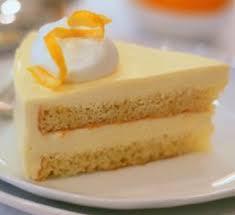 Meyer Lemon Mousse Cake
