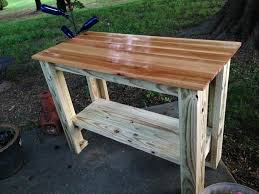 grill side table outdoor brilliant 5 diy grilling carts the home depot blog with regard to inside 20