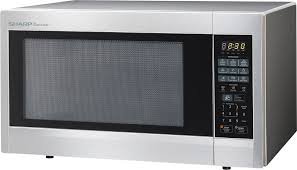 ft full size microwave stainless steel
