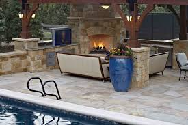 kitchen outdoor kitchen plans with spectacular rustic patio fireplace and long gray sofas rustic outdoor
