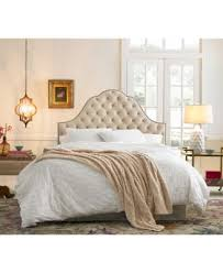 tufted bed. Jacqueline Queen Nail Button Tufted Arch Bed Quick Ship