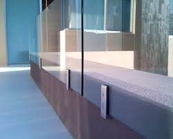 crl arch frameless glass railing systems railings stainless steel 316 pool fence brackets