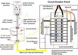 circuit6 to circuit breaker panel wiring diagram wiring diagram how to wire a breaker box for 220v at How To Wire A Circuit Breaker Diagram
