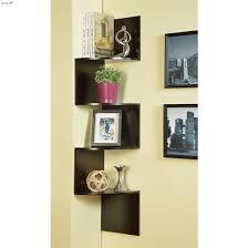 zig zag hanging wall shelf