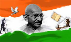 राष्ट्रपिता महात्मा गाँधी पर निबंध  essay on mahatma gandhi in hindi