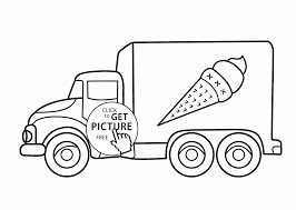ice cream truck coloring pages. Delighful Pages Icecream Truck Coloring Page For Kids Transportation Pages  Printables Free  Wuppsycom For Ice Cream Coloring Pages Pinterest