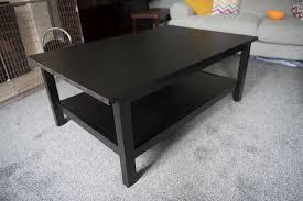 Ikea Hemnes beautiful black brown coffee table