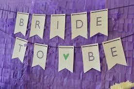 Bridal Shower Banner by Pup Fan